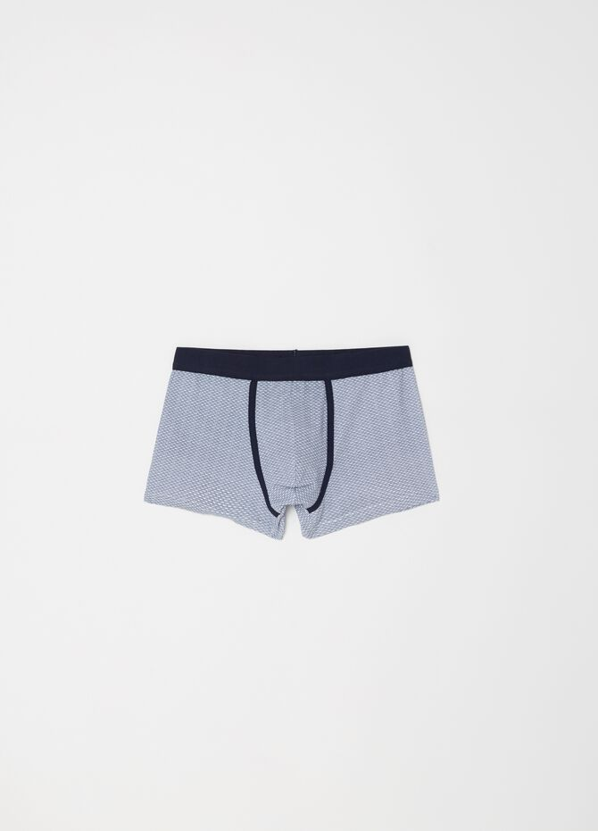 Two-pack stretch cotton boxer shorts with pattern