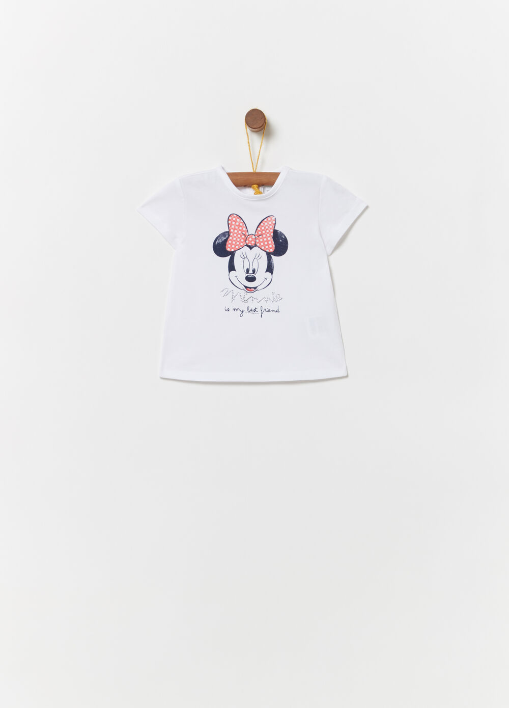 T-shirt with Disney Baby Minnie Mouse print