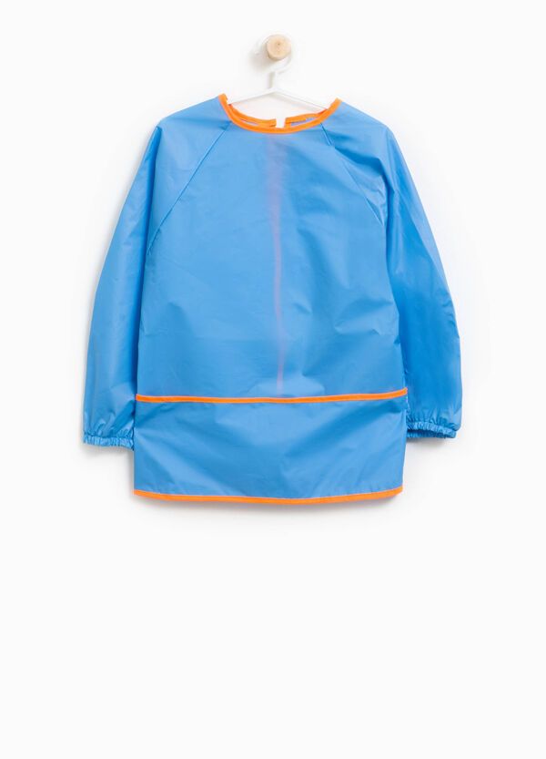 Solid colour smock with raglan sleeves