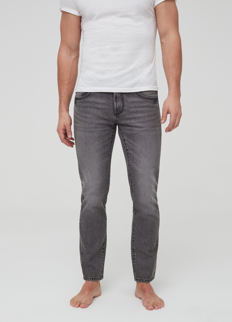 Five-pocket,straight-fit jeans image number null