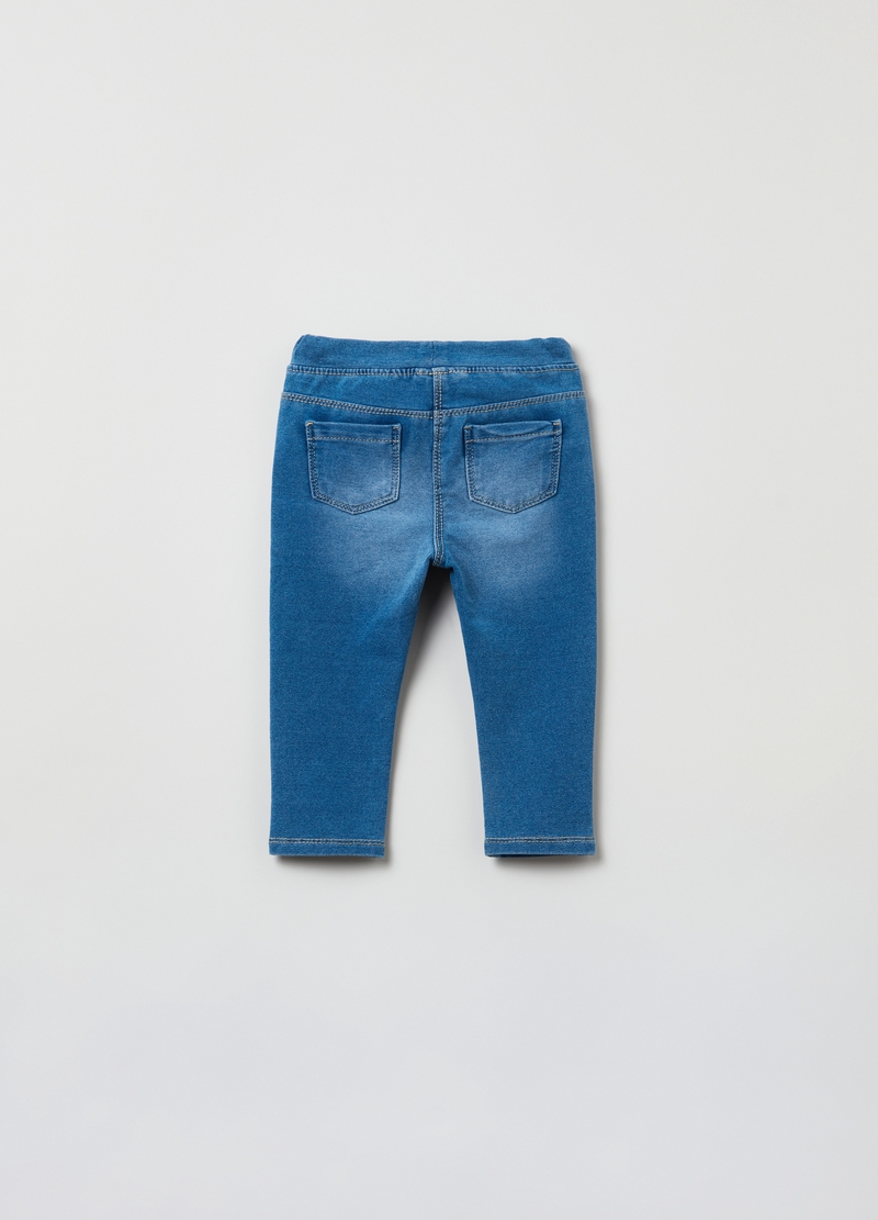 Jeggings con fiocchetto image number null