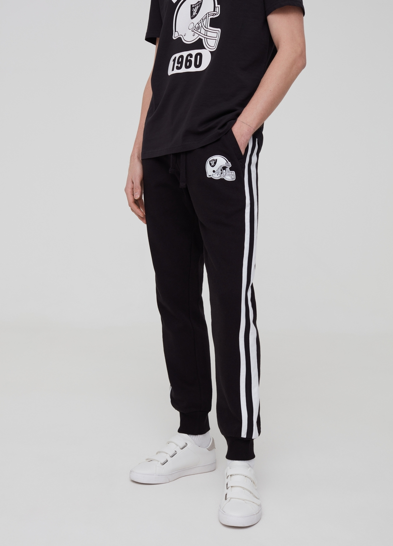 Raiders joggers with drawstring image number null