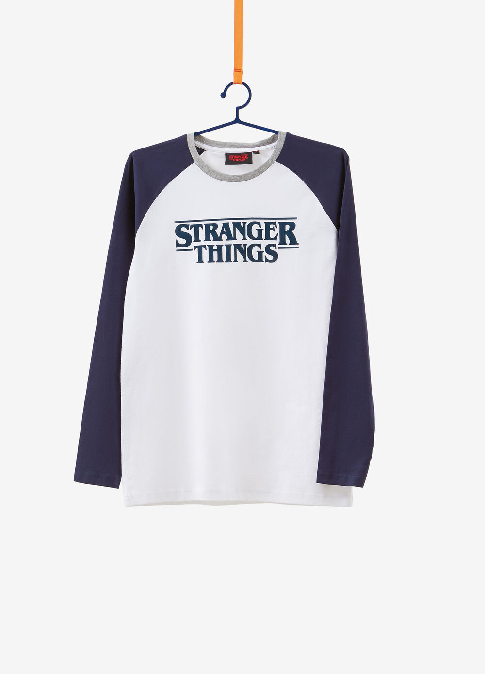 T-shirt maniche raglan Stranger Things