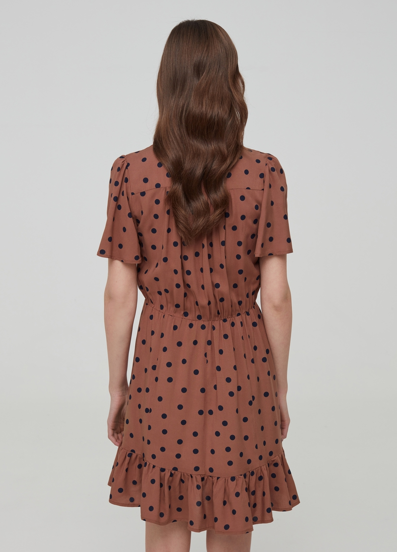 100% viscose dress with pattern image number null