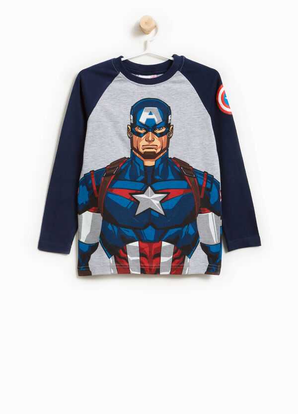 T-shirt with maxi Avengers print | OVS