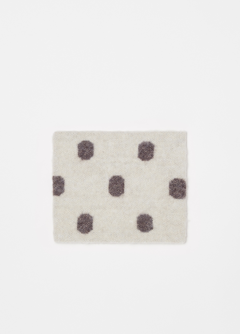 Scaldacollo a pois con lurex image number null