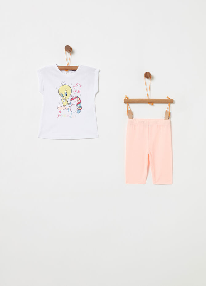 Jogging set BCI t-shirt Titti e unicorno