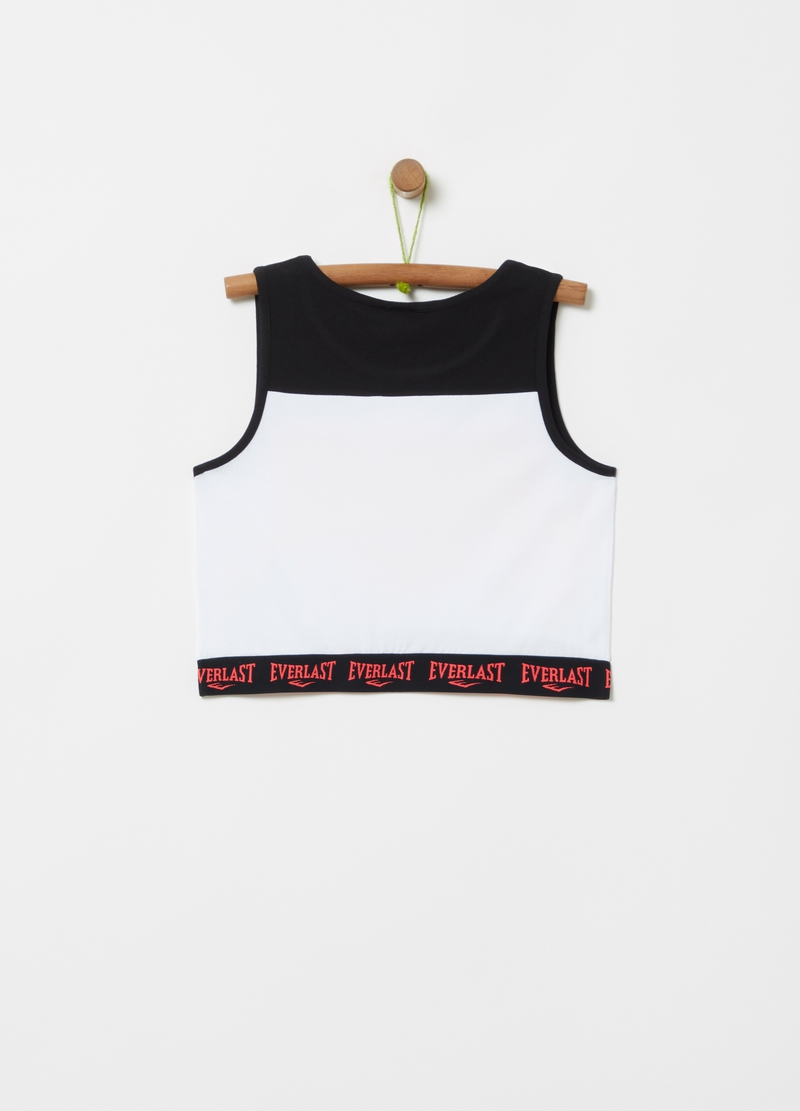 Stretch top with Everlast print image number null