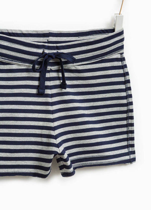 Shorts stretch a righe Smart Basic | OVS