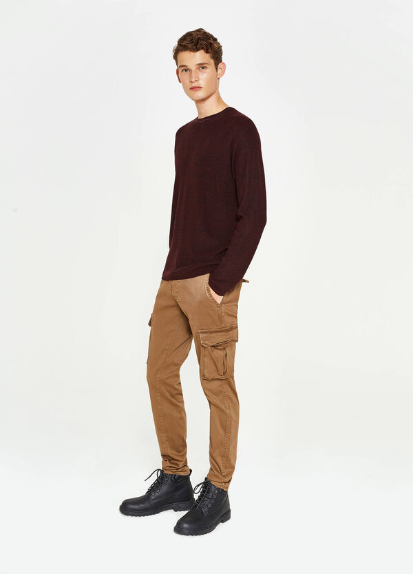 Pantaloni chino slim fit cargo | OVS