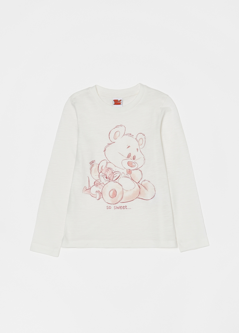 Long pyjamas with Tom & Jerry print image number null