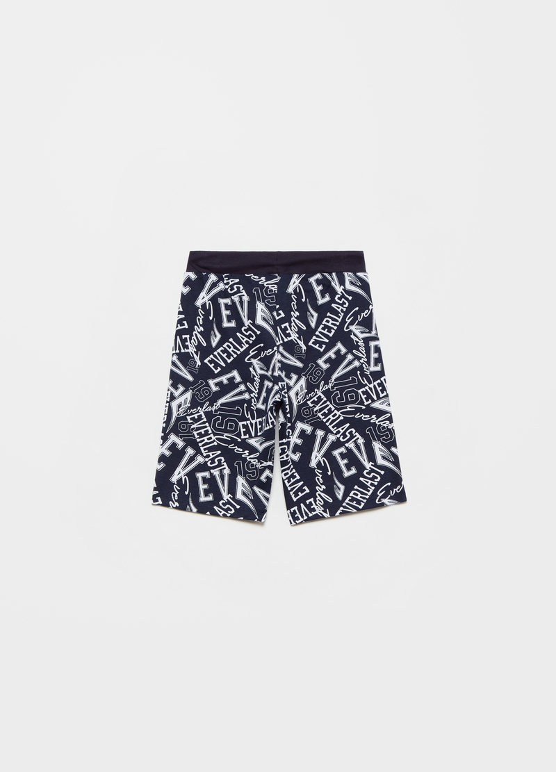 Everlast Bermuda shorts with all-over print image number null