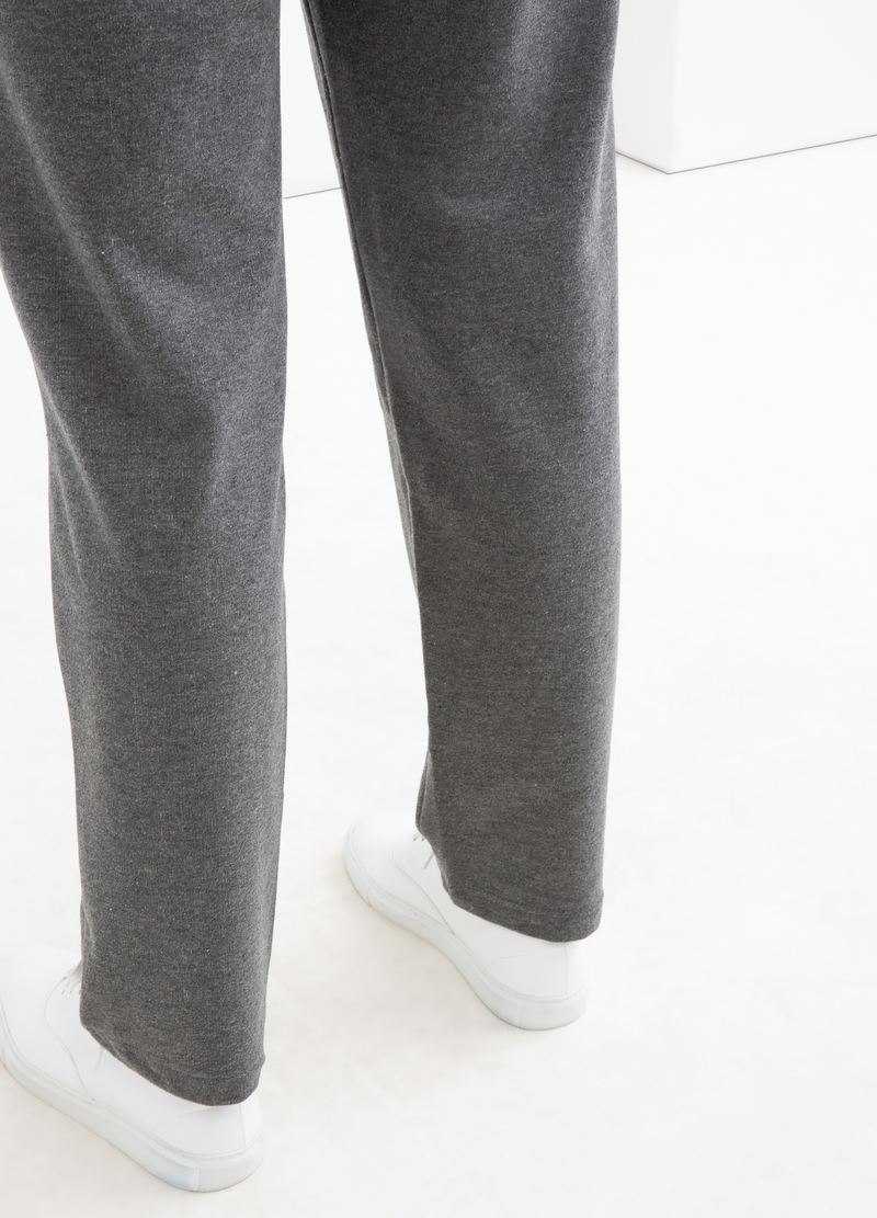 Curvy cotton gym pants image number null