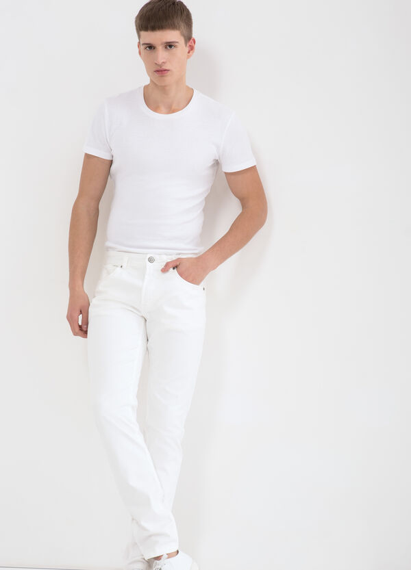 Skinny fit stretch trousers   OVS