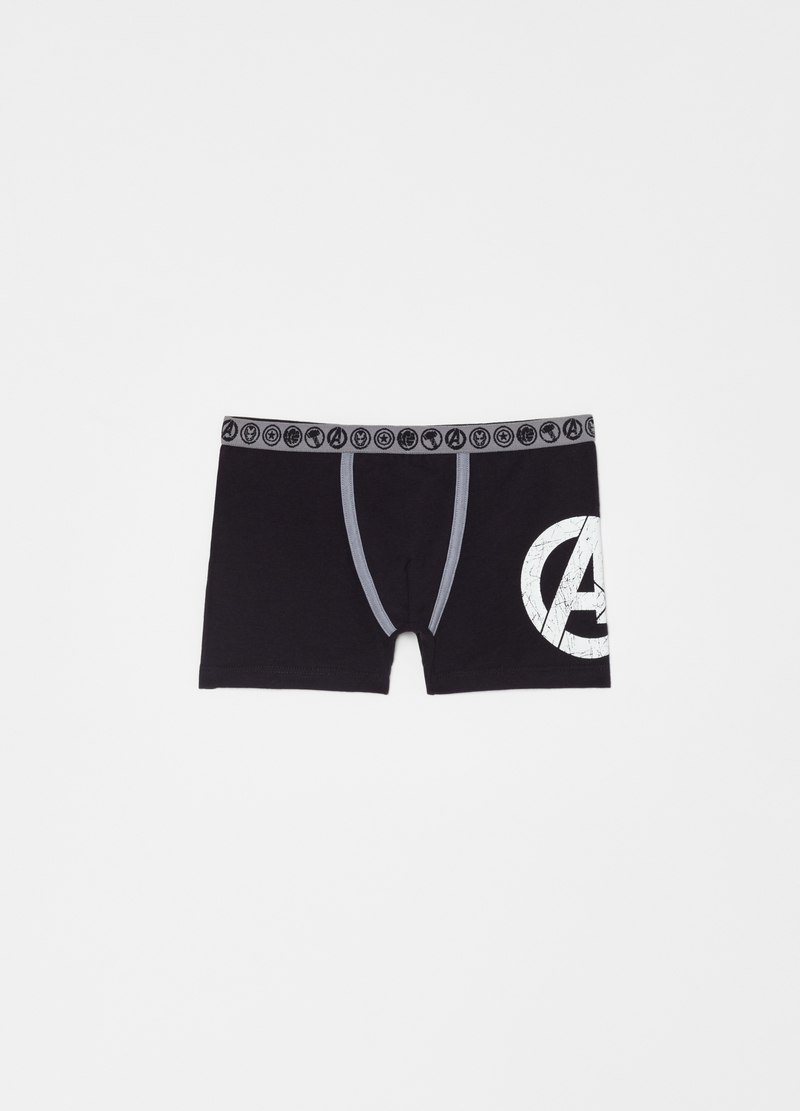 Two-pack boxer shorts with Marvel The Avengers pattern image number null