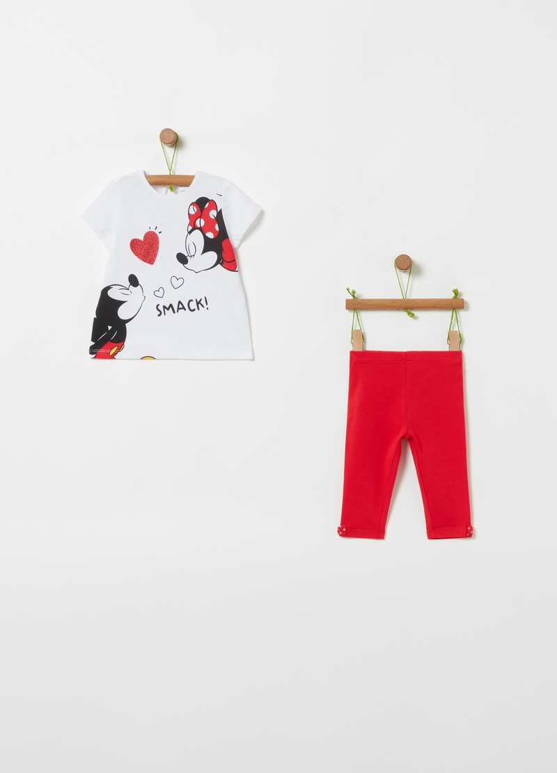 Jogging set Disney Baby Minnie e Topolino image number null
