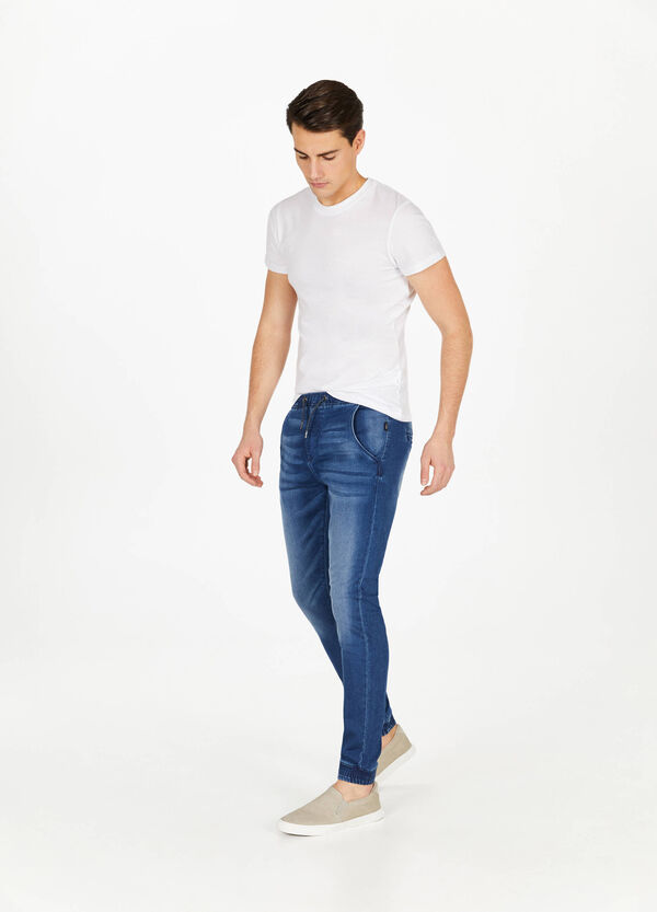 Jeans jogger fit stretch used