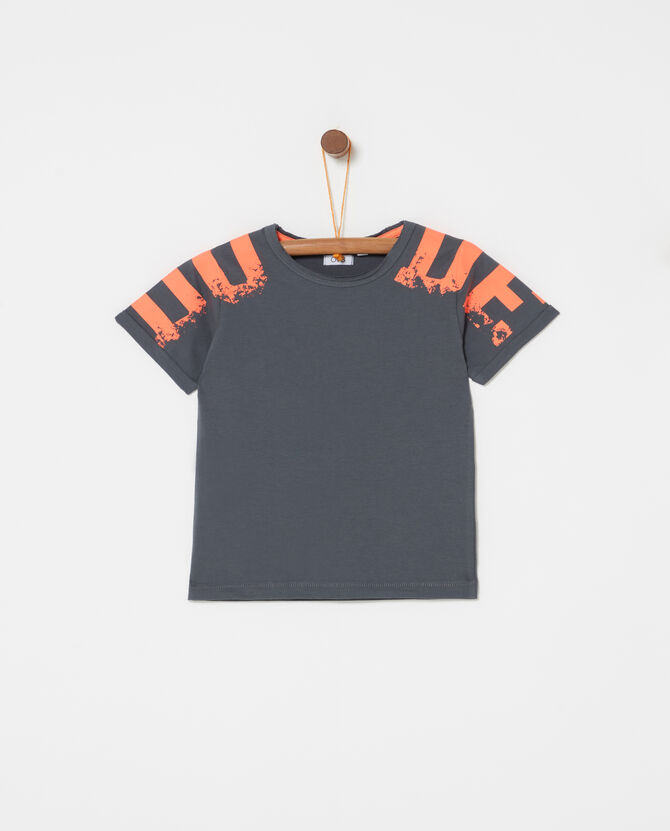 T-shirt in 100% organic cotton with print