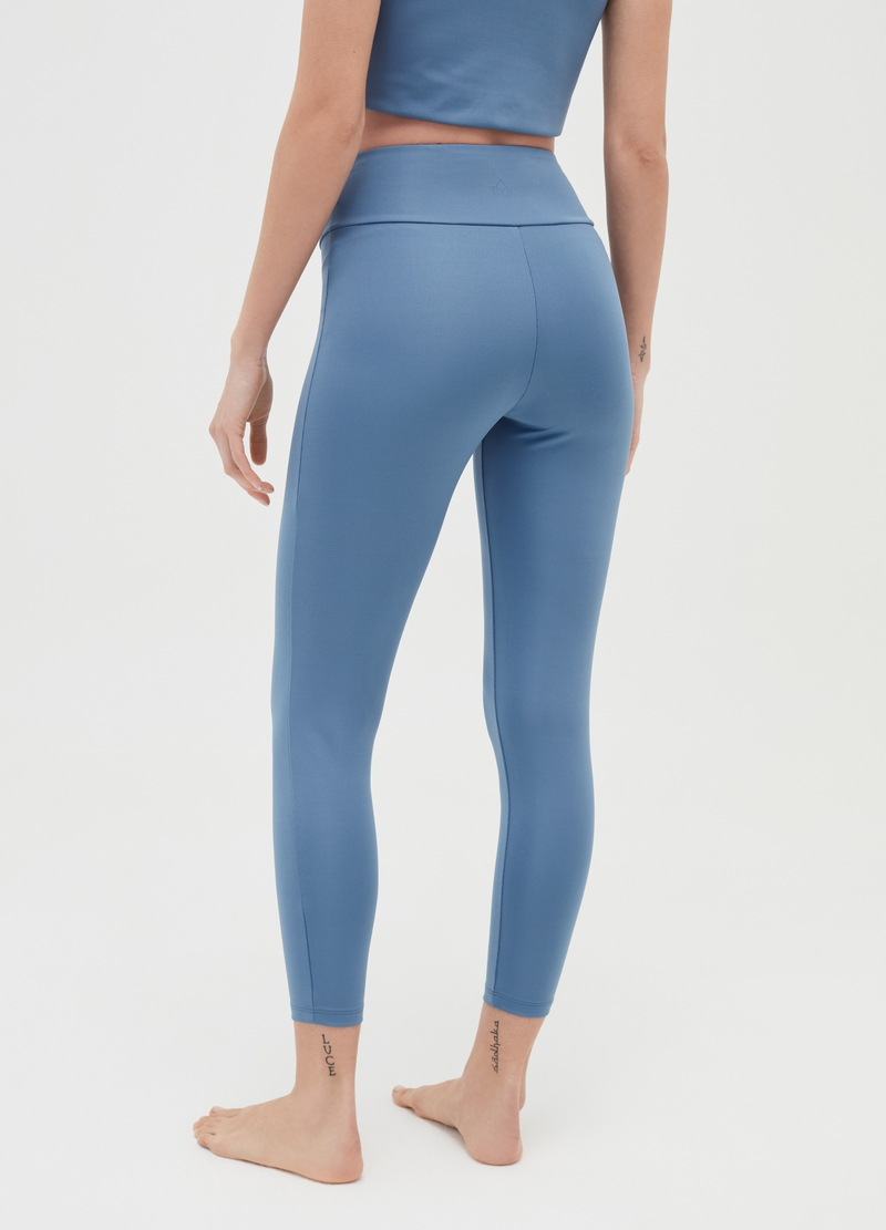High-waist leggings in microfibre image number null