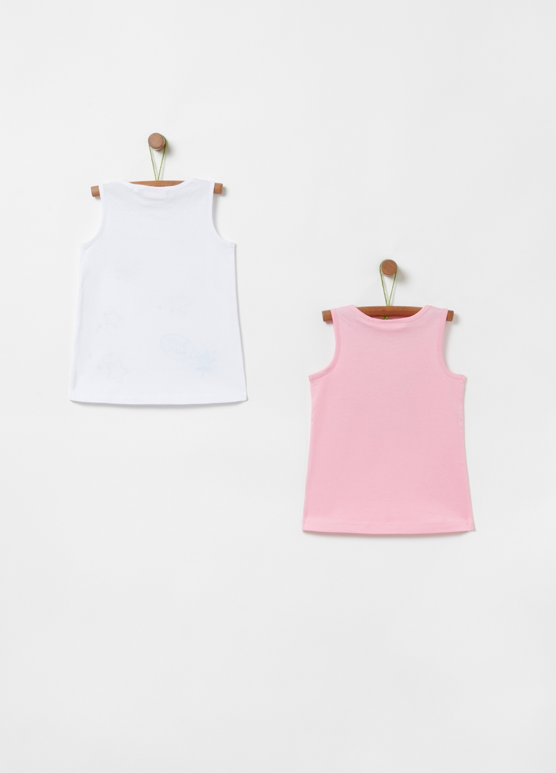 Two-pack tank tops with unicorn print image number null