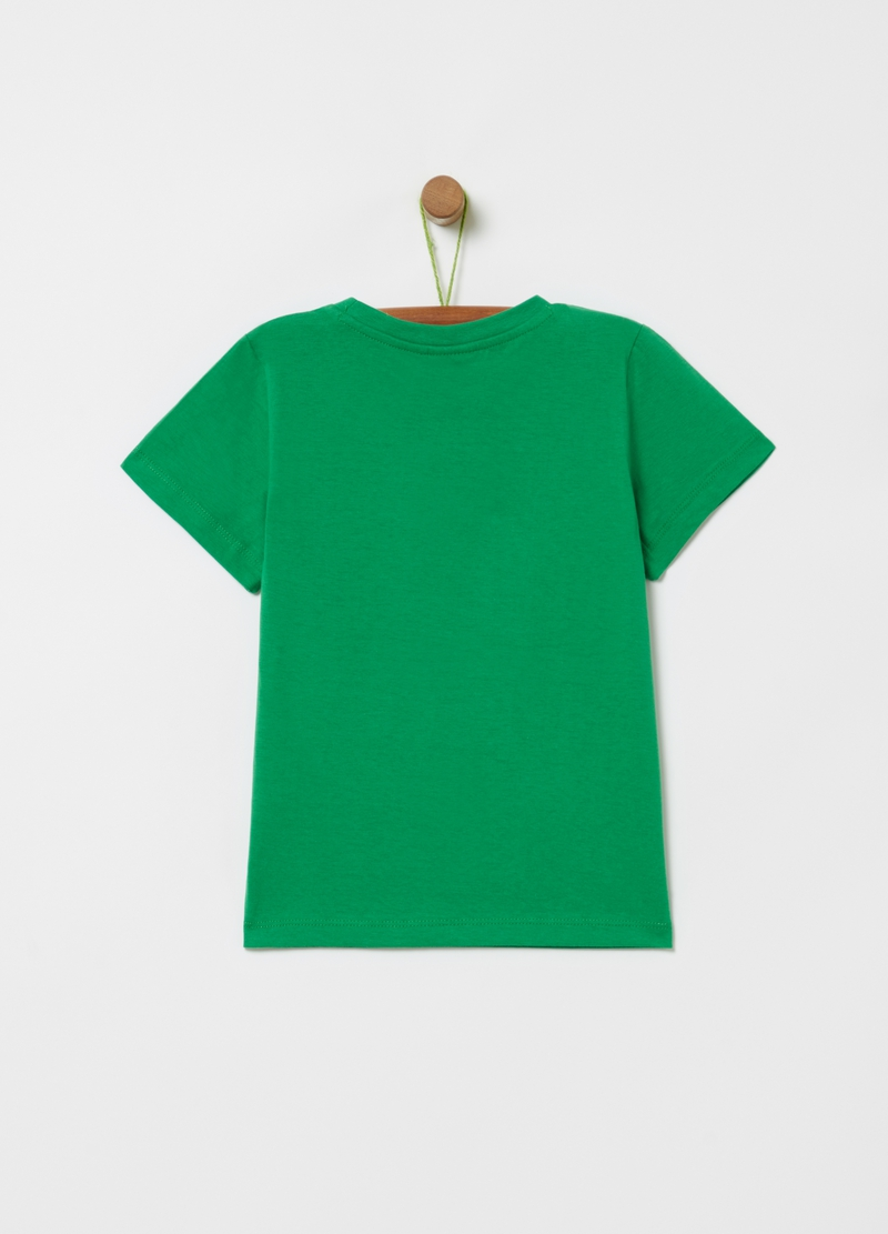 T-shirt with sequins and Minecraft print image number null