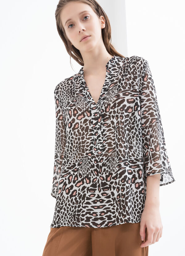 Animal print blouse | OVS