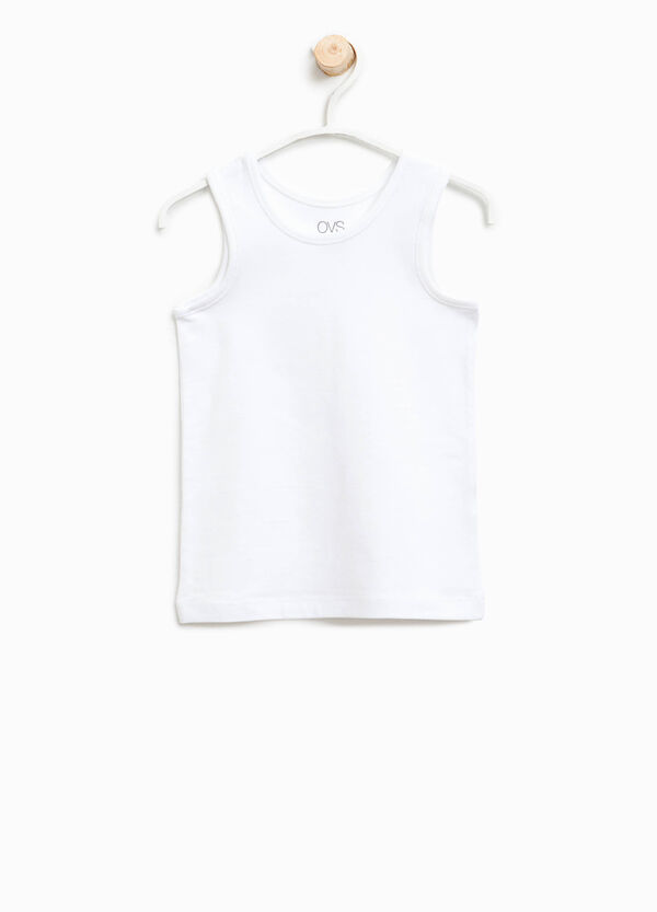 Organic cotton under vest | OVS