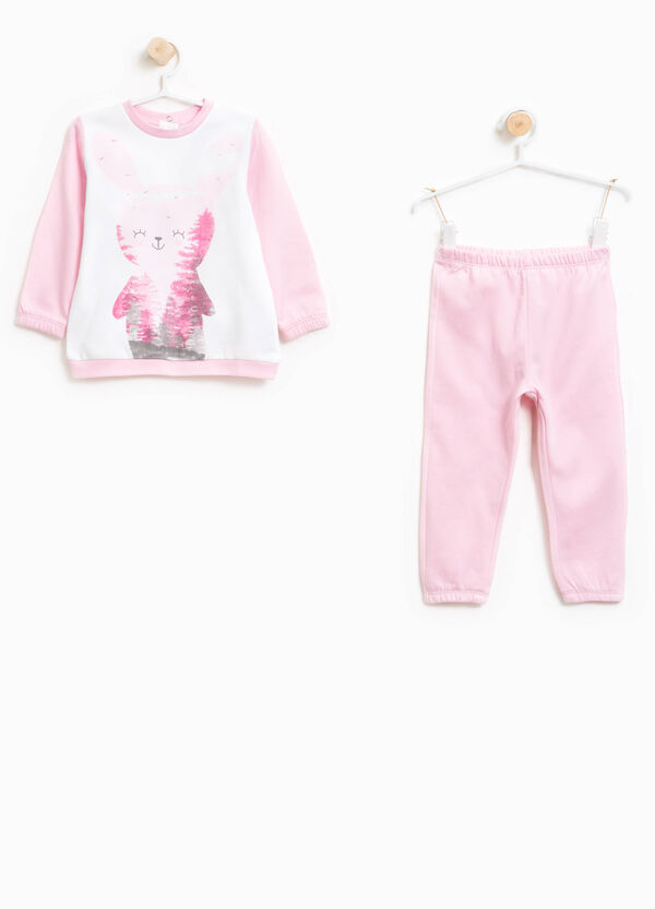 Better Cotton pyjamas with maxi print | OVS