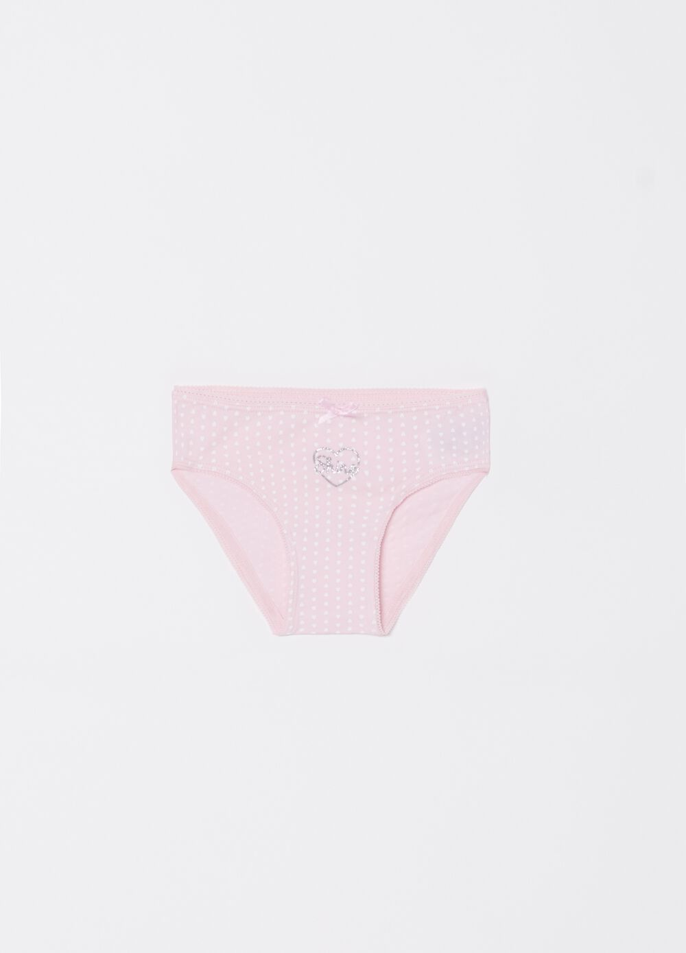 Slip in biocotton stretch stampa glitter