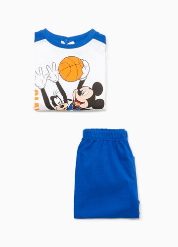 Mickey Mouse and Pluto cotton pyjamas