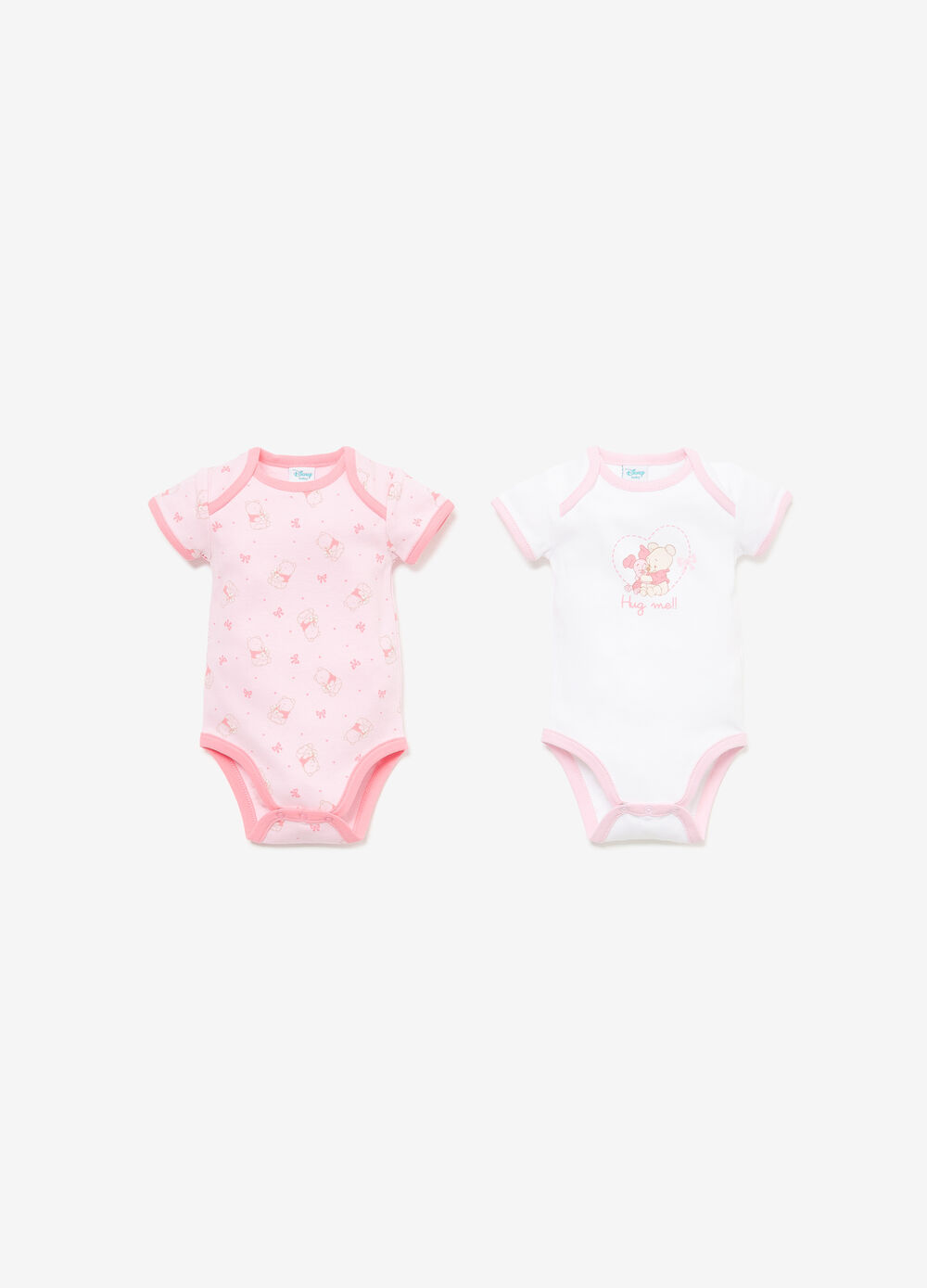 Two-pack Winnie the Pooh cotton bodysuits