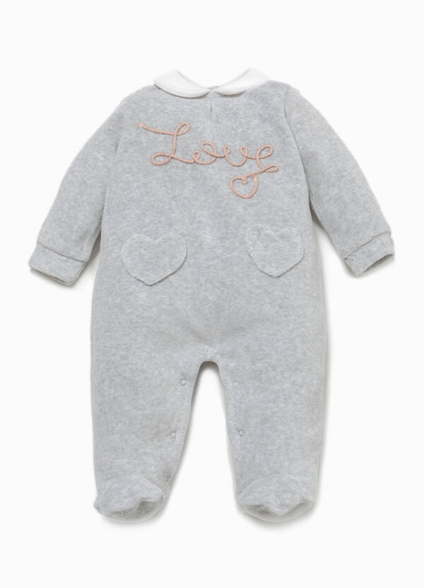 Better Cotton sleepsuit with patch | OVS