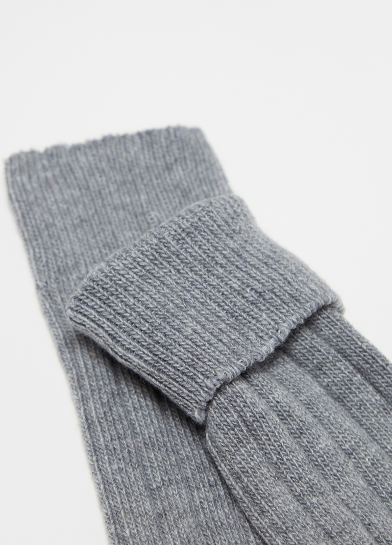 PIOMBO long socks in wool and cashmere image number null