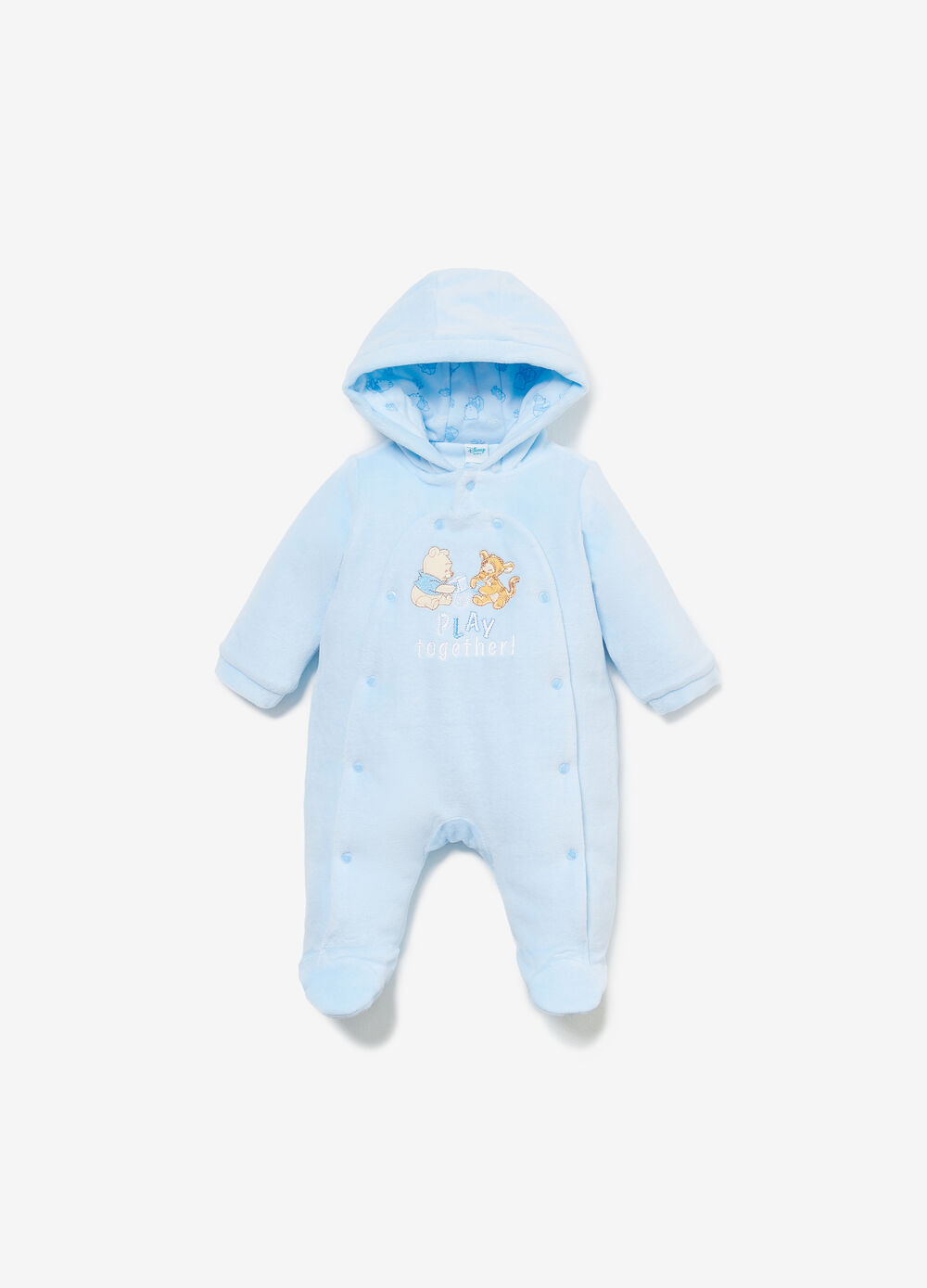 Romper suit with Winnie the Pooh patch