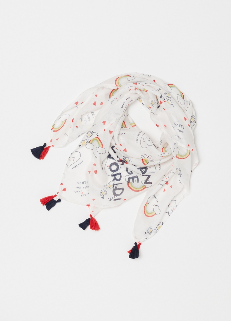 Foulard in pura viscosa image number null