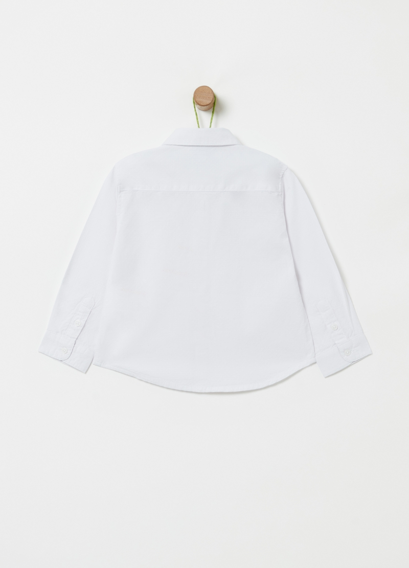Solid colour 100% organic cotton shirt image number null