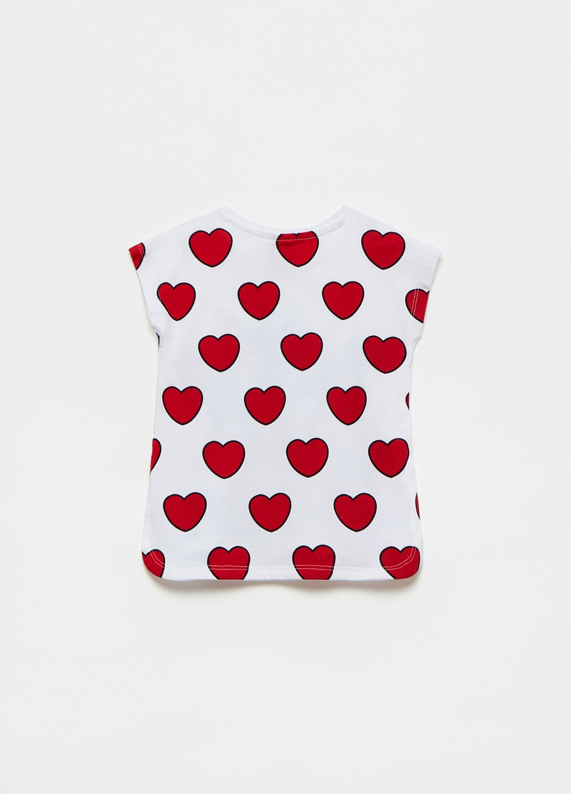 T-shirt with Disney Minnie and Mickey Mouse print image number null