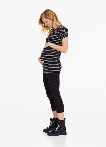Leggings a tre quarti cotone stretch MUM