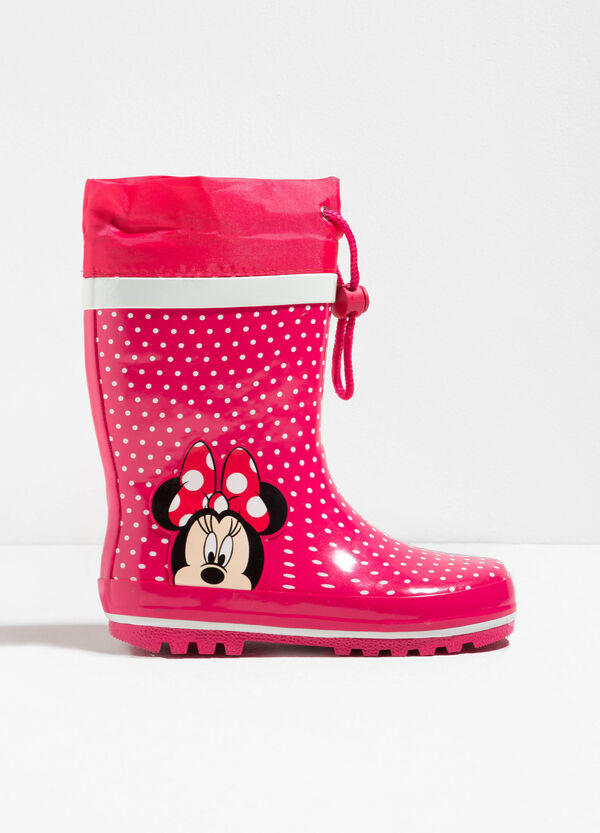Minnie Mouse polka dot rain boots | OVS