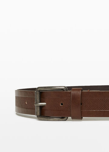 Belt with braided insert