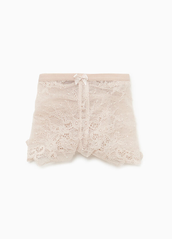 French knickers in stretch lace