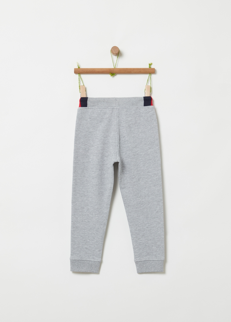 French terry jogger trousers image number null