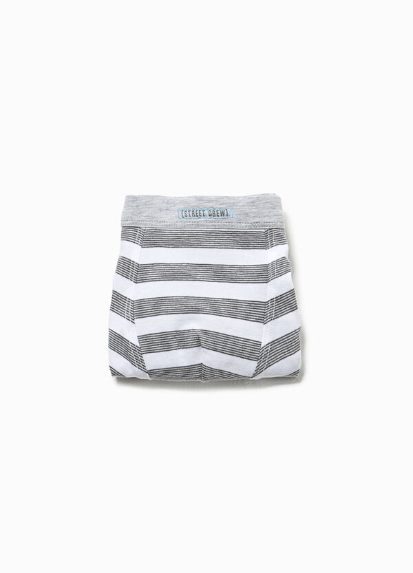 Striped boxers in organic cotton | OVS