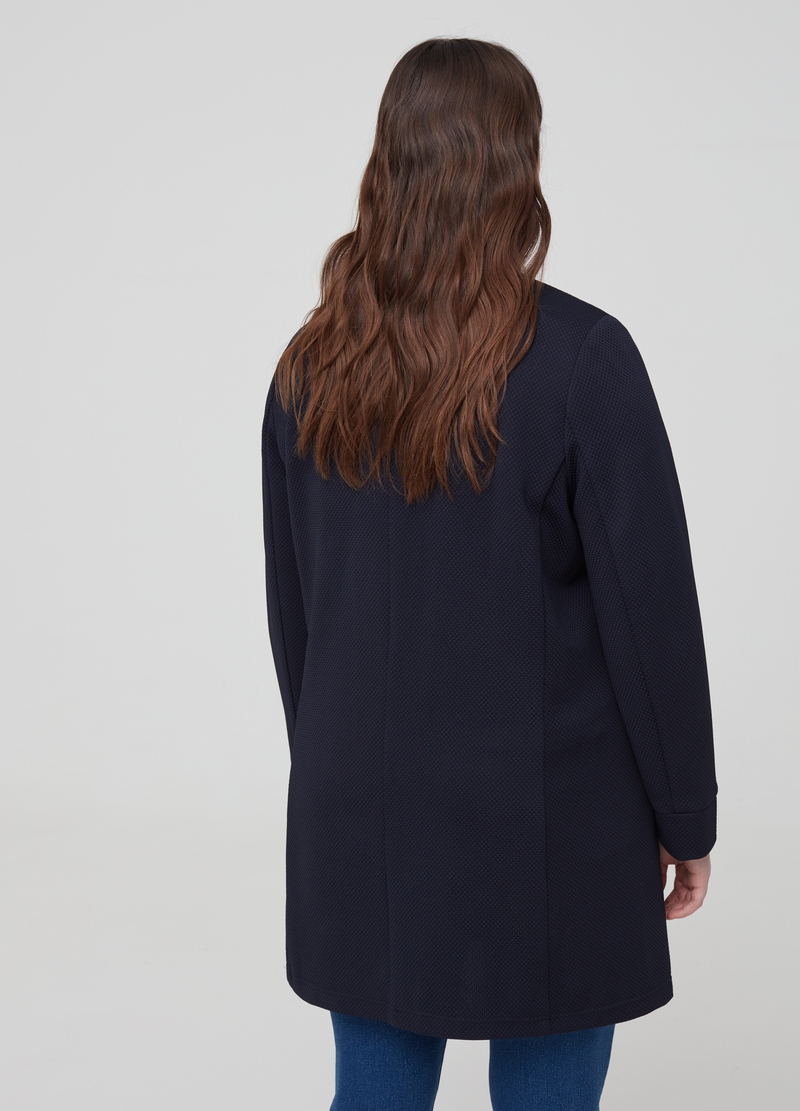 Cappotto stretch con tasche Curvy image number null