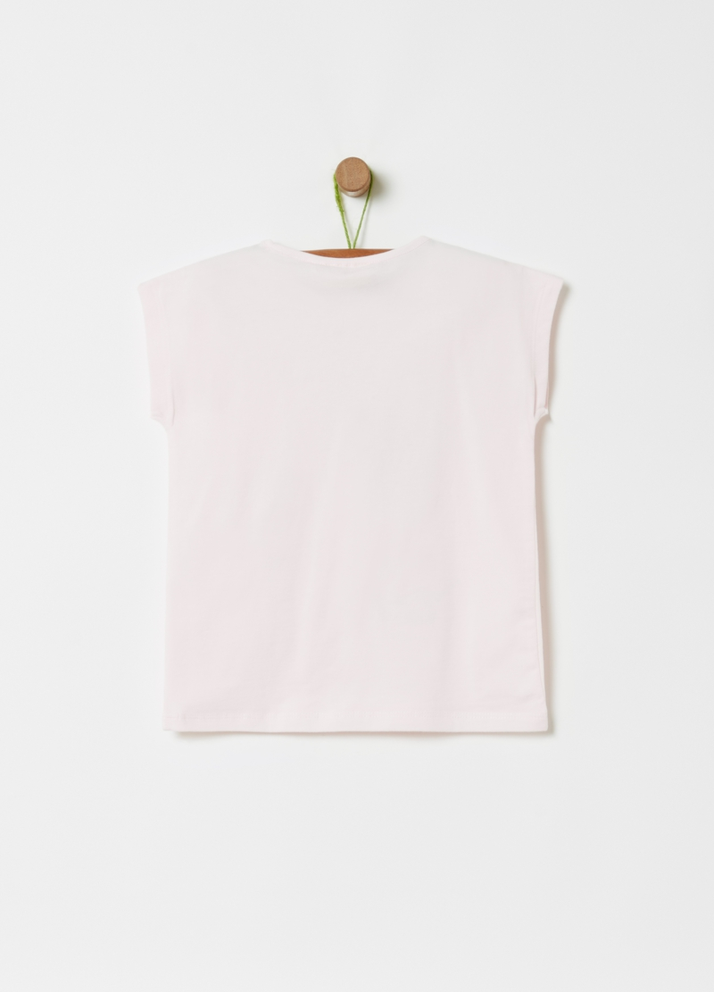 T-shirt stampa lettering e frutta image number null