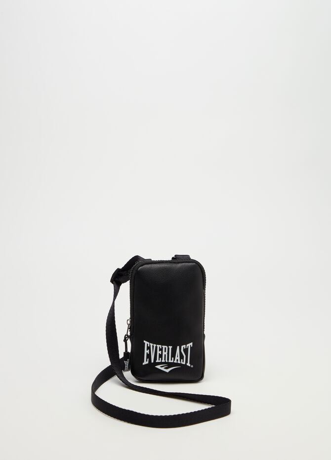 Shoulder bag with Everlast print