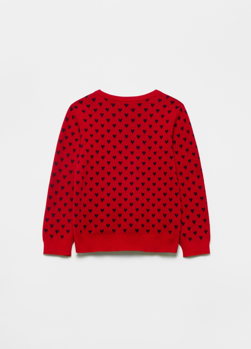 100% cotton jacquard pullover image number null