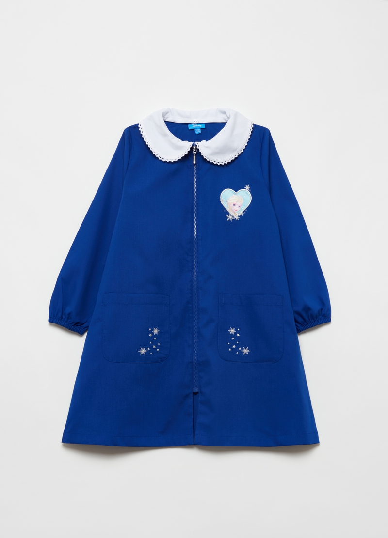 Solid colour Disney Elsa Frozen smock image number null
