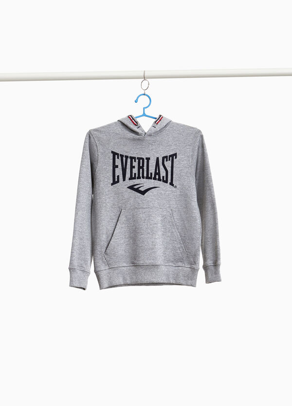 Everlast mélange sweatshirt with print