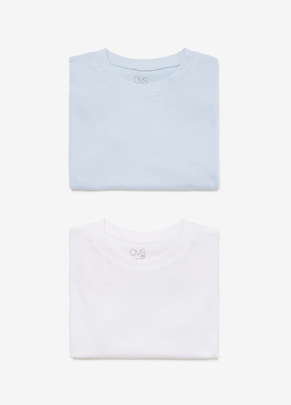 Two-pack 100% cotton undershirts